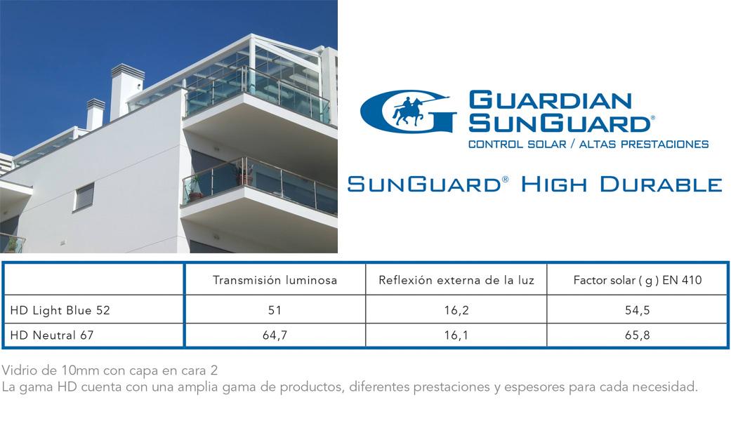 sunguardian - Cortina de cristal