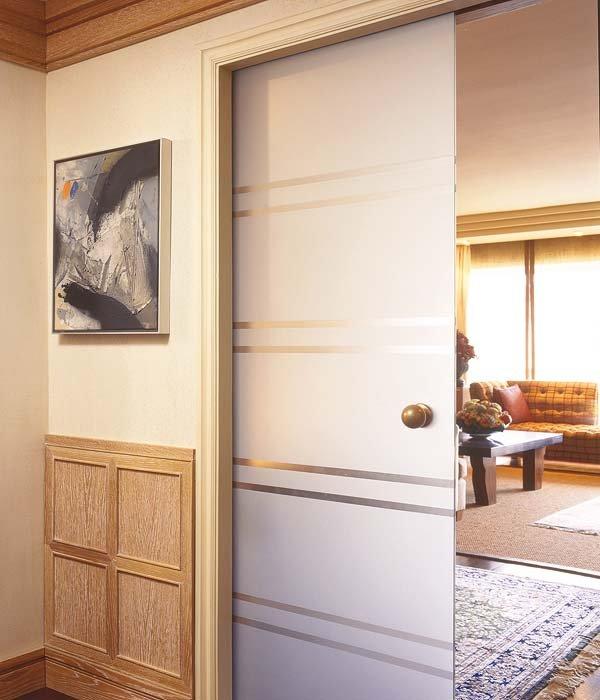 puerta deco 3 - Divisiones y puertas de vidrio