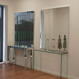 recibidor espejo 300x300 - Muebles espejo - cristal