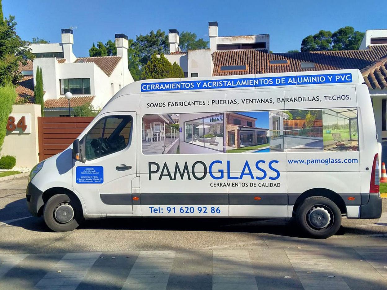 pamoglass furgon 01 - Pamo Glass