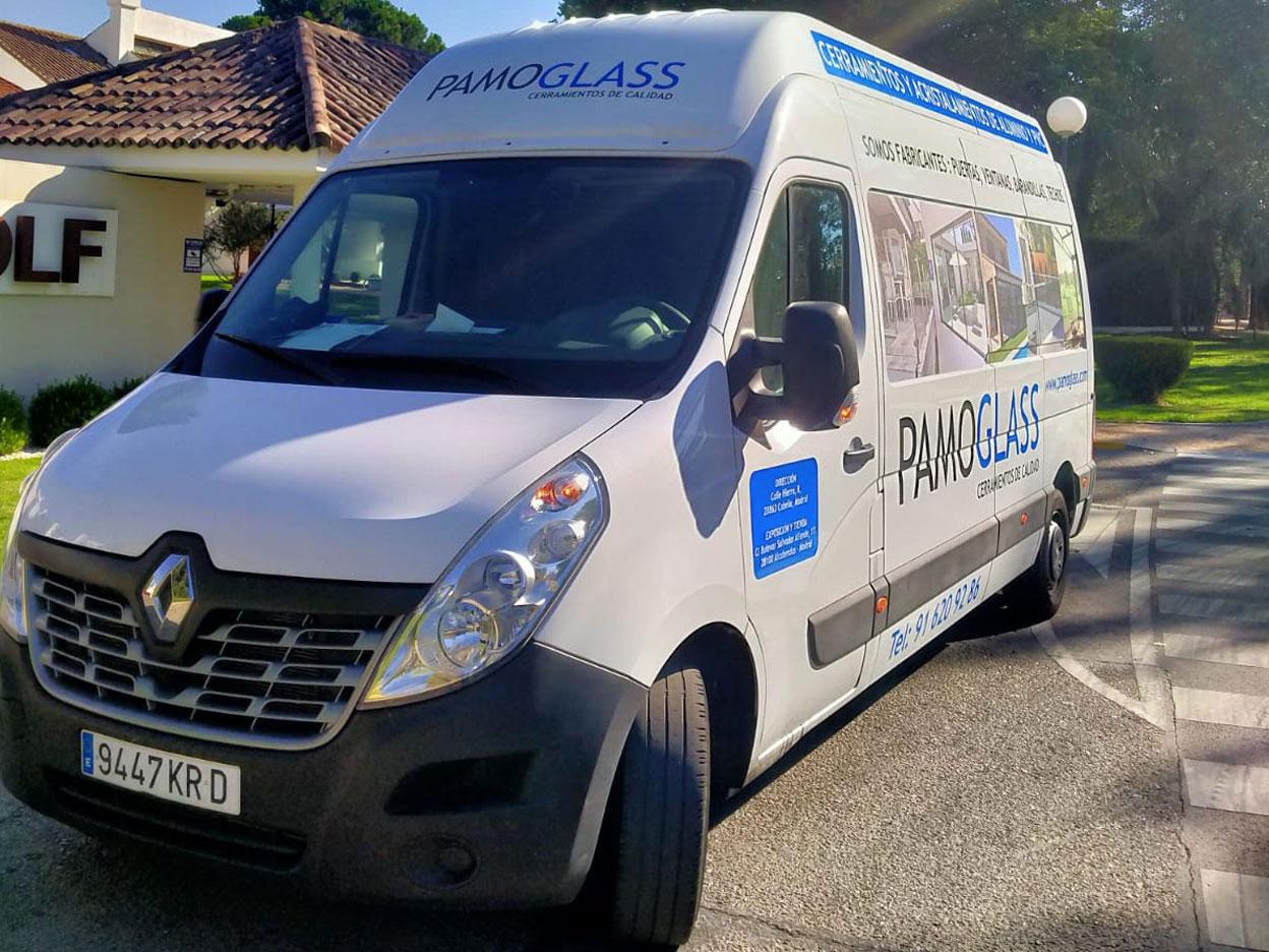 pamoglass furgon 02 - Pamo Glass